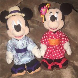 Disney Exclusive Tokyo Retired! Japan M&M Set